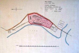 Siteplan, 1934.