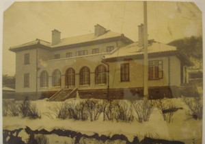 New consulate building at Hakodate, completed 1913.