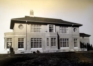 The garden front of the new residence in 1939.
