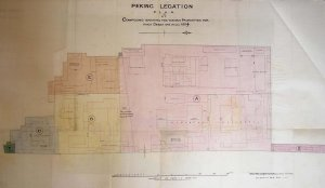 1894 compound plan, identifying plot purchases after 1860.