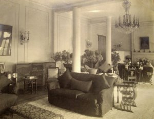 Morning room, 1930s.