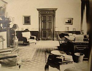 Smoking room 1930s.