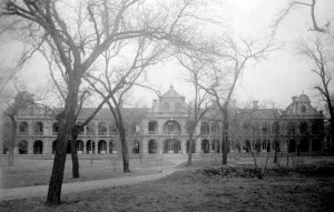 Students' quarters.