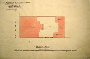 Block plan of Hotel de Rodes.