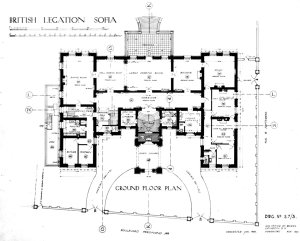 Ground floor plan, 1929.
