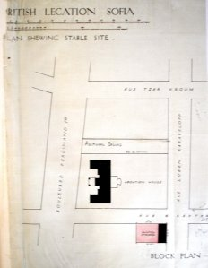 Location plan, c1925.