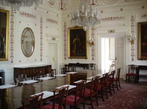 The State dining room, 2005.