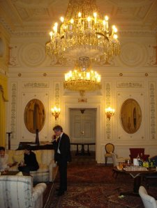 The State drawing room, 2005.