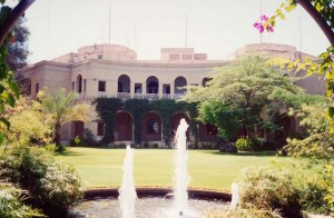 View from north-west, 1990s.