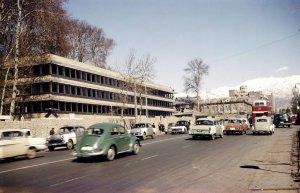 new offices from Ferdowsi Avenue, 1963.