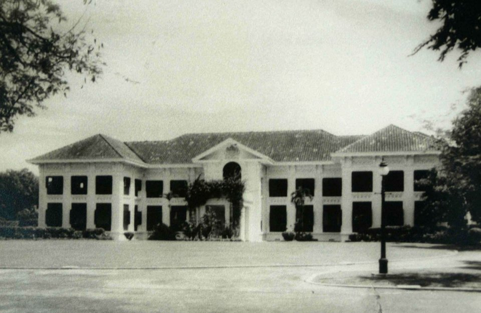 Residence compound frontage, late-1920s.