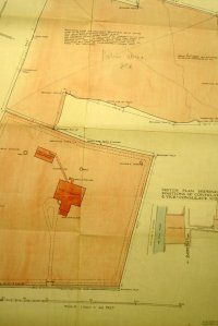 Site bought for the vice-consul's house, completed 1909. The inset shows both sites.