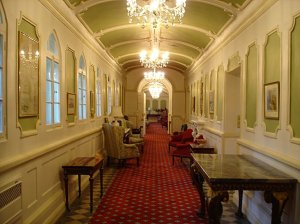 The State Rooms corridor, 2005.