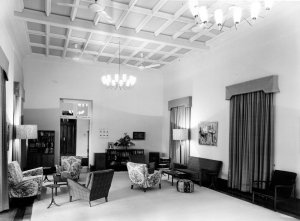 The drawing room, 1964.