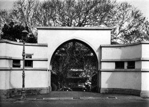Entrance to grounds, 1964.