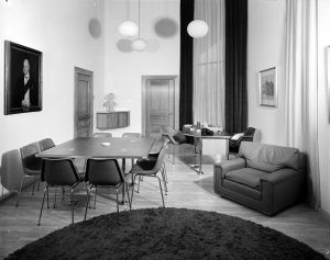 Minister's office, 1971.