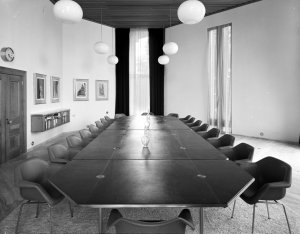 Conference room, 1971.