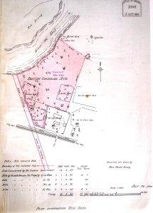 Phre site plan, 1906.