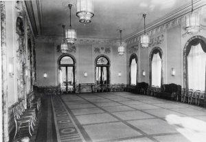 The ballroom, 1955.