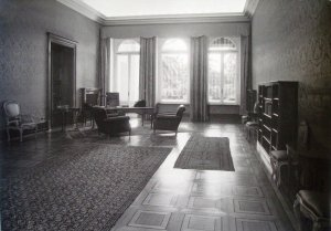 The large drawing room, 1947.