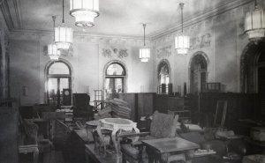 The ballroom, 1947.