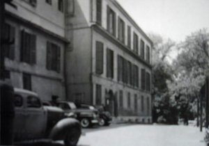 Entrance side to Princess Zenaide's villa, 1948.