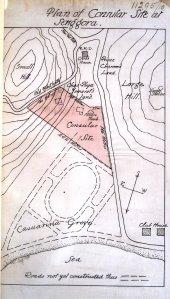Sengorra siteplan, 1910.
