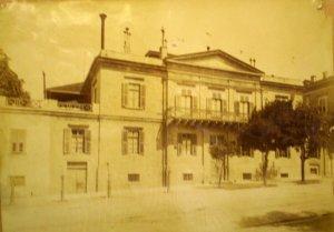 Legation house on Dragatzani Street, c. 1910.