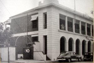 Leased offices and residence on the first floor of Casa Infante de Sagres, 1948.