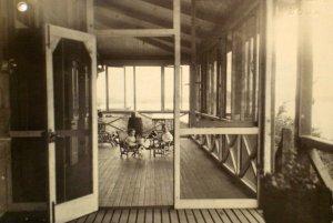 Veranda scene, 1930,