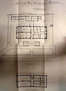 Consulate plan, c.1925.
