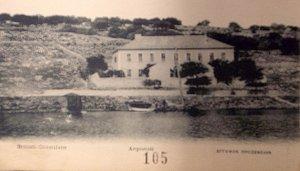 Cephalonia consulate, c. 1925.