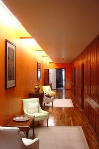 Top floor passage, 2006.