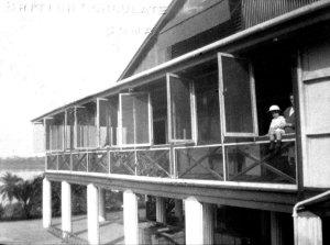 Veranda, 1930.