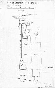 12 Hooge Westeinde siteplan, 1924.