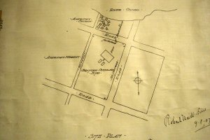 Siteplan of consulate, 1907.
