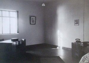 Interior of consul's office, 1941.