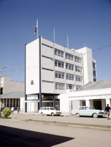 Mbabane, offices, 1970.