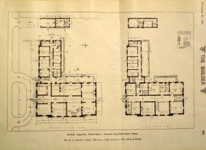 Floor plans, 1925.