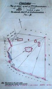 Site plan of Villa Frognaes, 1907.