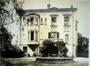 Entrance (east) front, 1929.