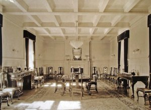 The high commissioner's dining room, 1931.