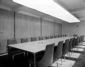 Conference room, 1964.