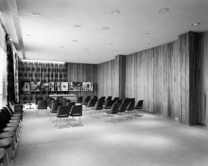 Ground floor conference hall, 1964.