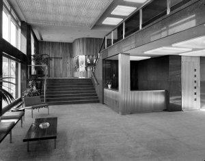 Entrance hall, 1964.