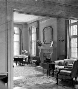 Drawing room, 1953.