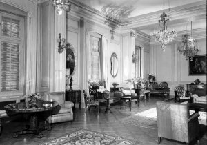 The drawing room, 1961.