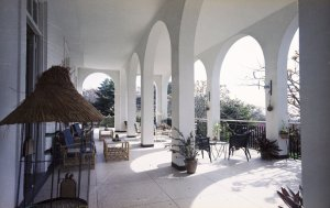 Veranda, as extended, on the east side, 1965.