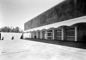 Entrance front. 1966.
