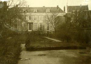 Garden facade, 1946.